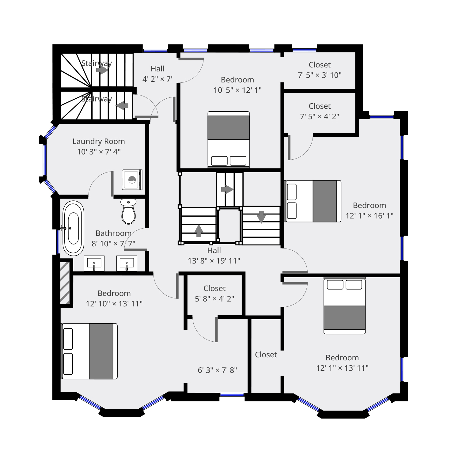 Floor Plan Harr Creative